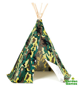 Garden Games play tent Wigwam Camouflage