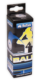 Table tennis balls Buffalo Competition 3 * 3pcs.