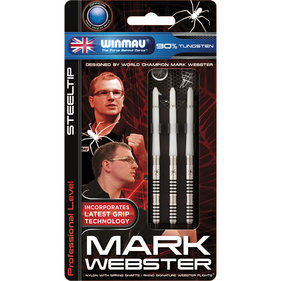 Winmau Mark Webster stålspets dart 25gr