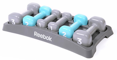Dumbell set Reebok dames training