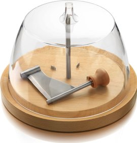 Boska Cheese curler Geneva with bell jar