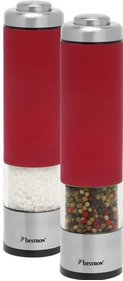 Bestron electric pepper and salt mill set APS526
