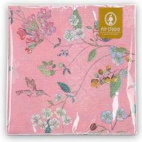 Serviette Pip Studio Hummingbirds - lot de 20