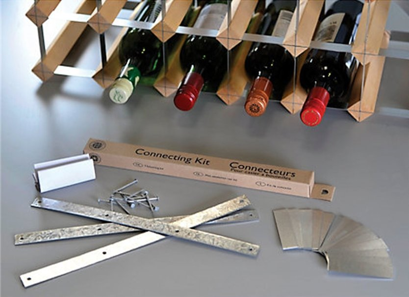Traditional Wine Rack Co verbindingskit