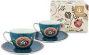 Pip Studio Spring To Life cappuccino cup and saucer set of 2