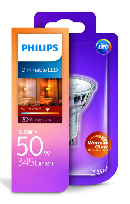 Philips Classic led-spot 5,5W