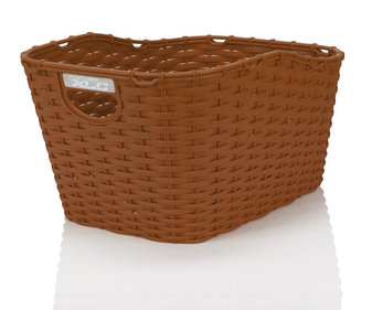XLC Carry More bicycle basket brown