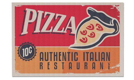 Balvi placemat pizza - set of 2
