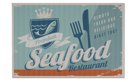 Balvi placemat seafood - set of 2