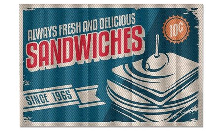 Balvi placemat sandwiches - set of 2