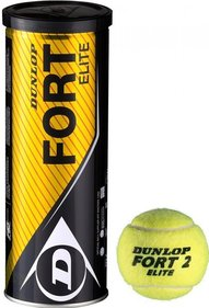 Dunlop Fort Elite tennis balls