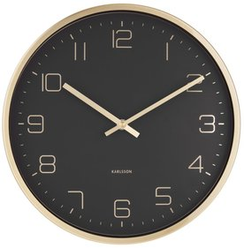 Karlsson Gold Elegance wall clock