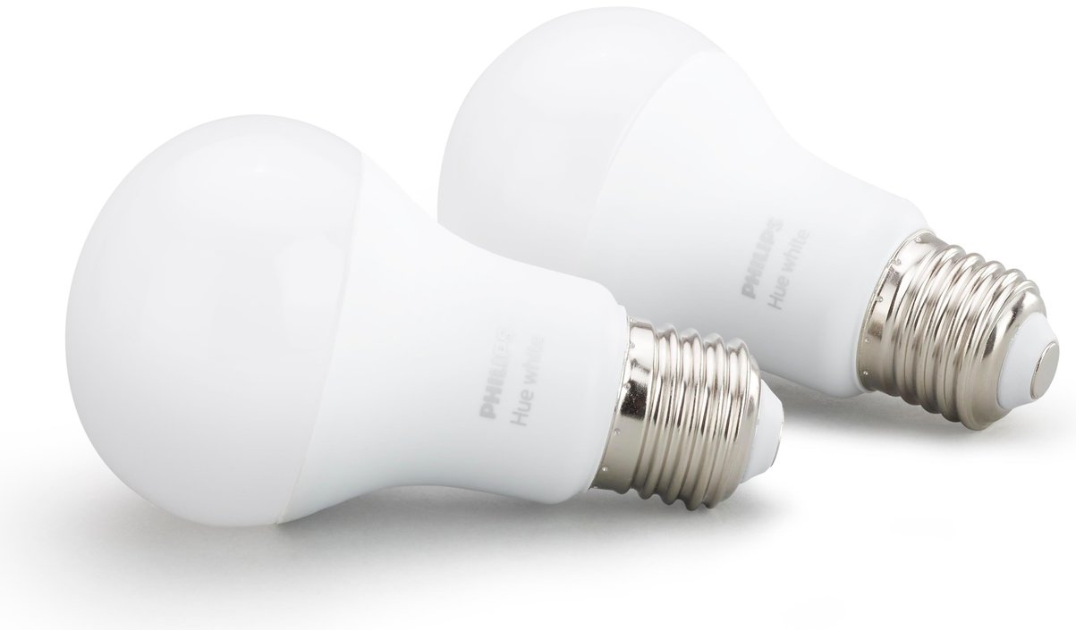 Philips Hue White 9W E27 duopack