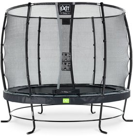 EXIT Elegant trampoline with safety net Deluxe