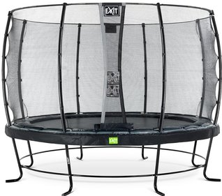 EXIT Elegant trampoline with safety net Economy