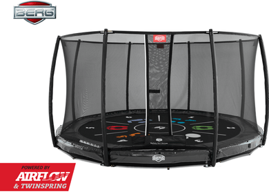 Berg Elite InGround Tattoo trampoline
