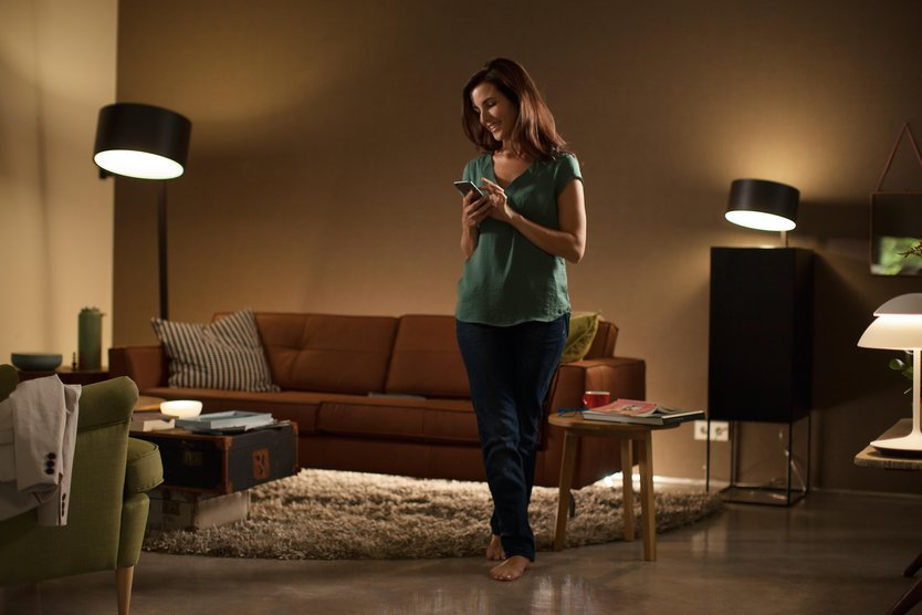 Philips Hue White Ambiance 5.5W GU10 losse lamp