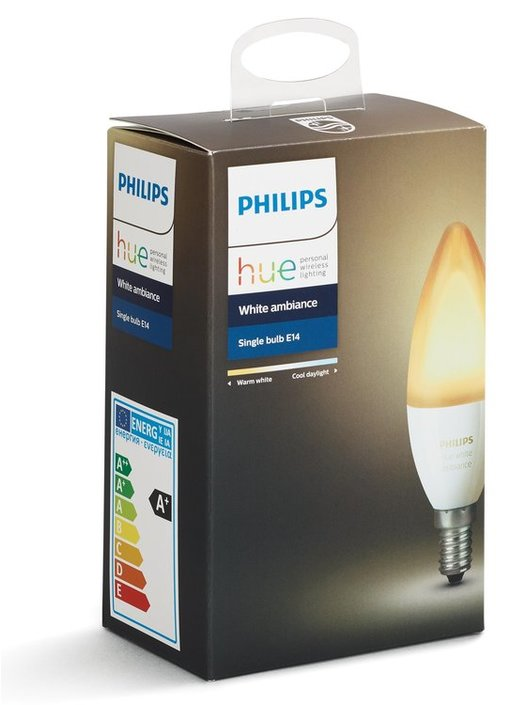 Philips Hue White Ambiance 6W E14 losse lamp