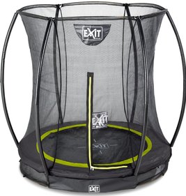 EXIT Silhouette Ground trampoline with safety net