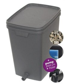 VT Box Pond filter med pump