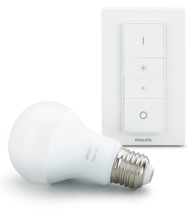 philips hue white draadloze dimmerset e27 kopen frank. Black Bedroom Furniture Sets. Home Design Ideas