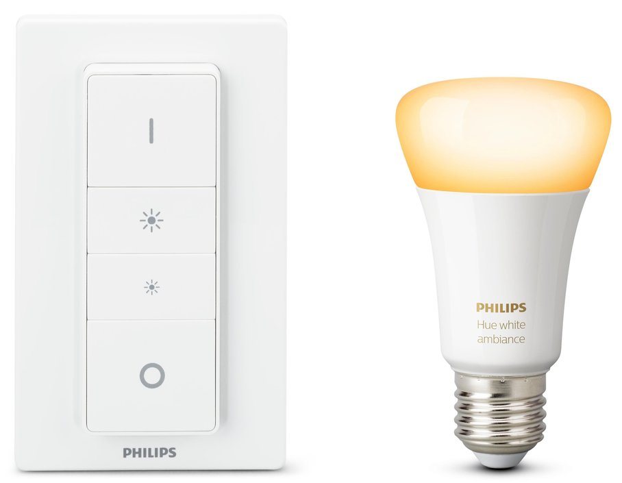 philips hue white ambiance draadloze dimmerset e27 kopen frank. Black Bedroom Furniture Sets. Home Design Ideas