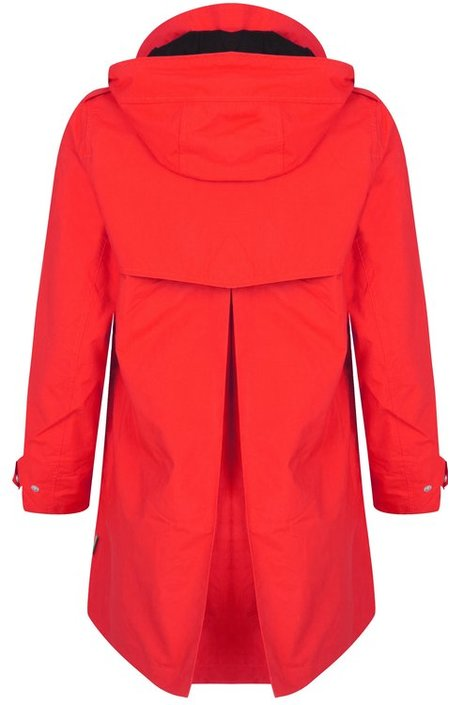 Happy Rainy Days Rosa Kort A-line Coat
