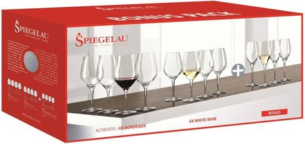 Spiegelau Authentis ensemble de verres à vin - lot de 12