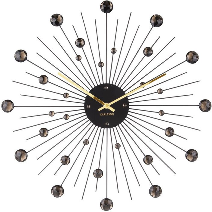 Karlsson Sunburst design clock