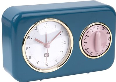 PT Nostalgia table clock with timer