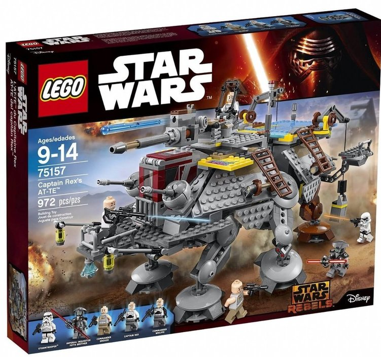 LEGO Star Wars Captain Rex's AT-TE - 75157