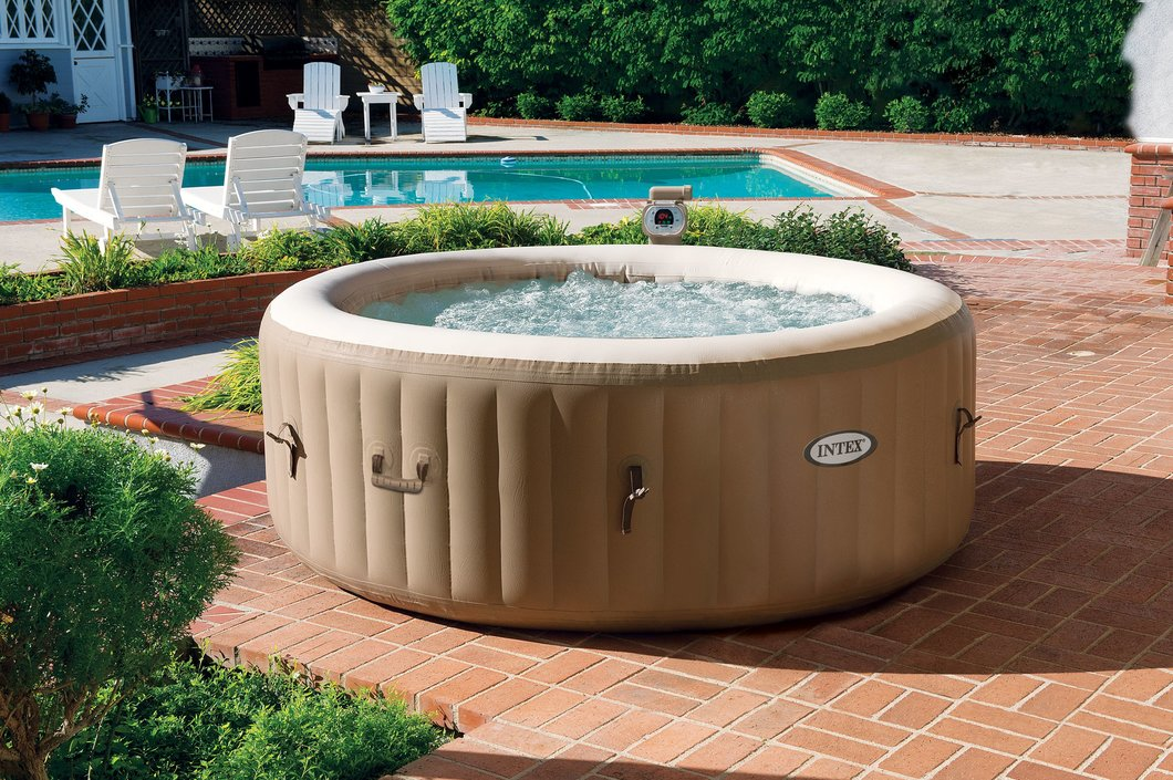 Intex PureSpa Bubble Massage opblaasbare jacuzzi