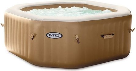Intex PureSpa Bubble Therapy opblaasbare jacuzzi 4 persoons