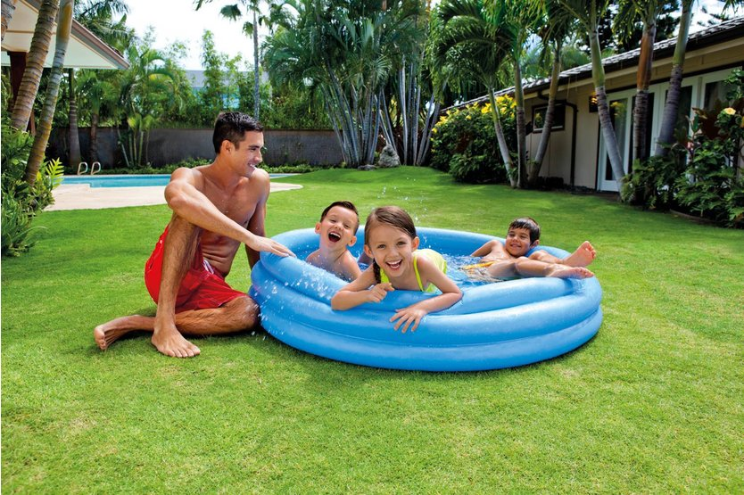 Intex Crystal Blue paddling pool