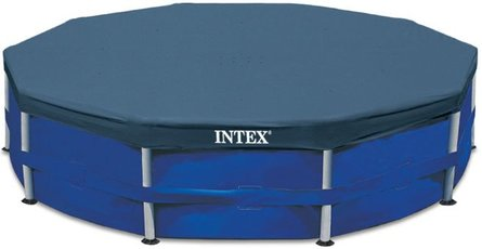 Intex Afdekzeil Metal Frame 305