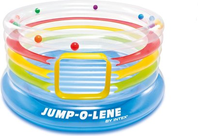 Intex Jump-O-Lene transparant speelhuis