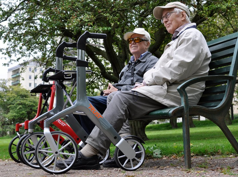 Trust Care Let's Fly Rollator