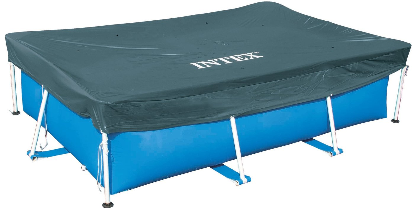 Intex afdekzeil metal frame 300x200 kopen frank for Intex mini frame pool afdekzeil