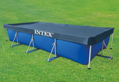 Intex Afdekzeil Metal Frame 450x220