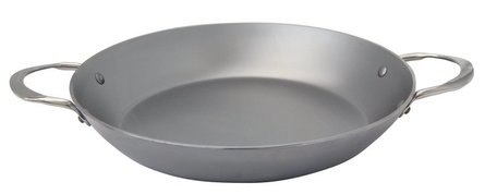 DeBuyer Mineral B Element paella pan