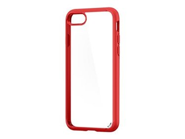 Spigen iPhone 8/7 Case Ultra Hybrid 2 Red hoesje