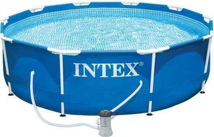 Intex Metal Framepool 305x76 cm above ground pool