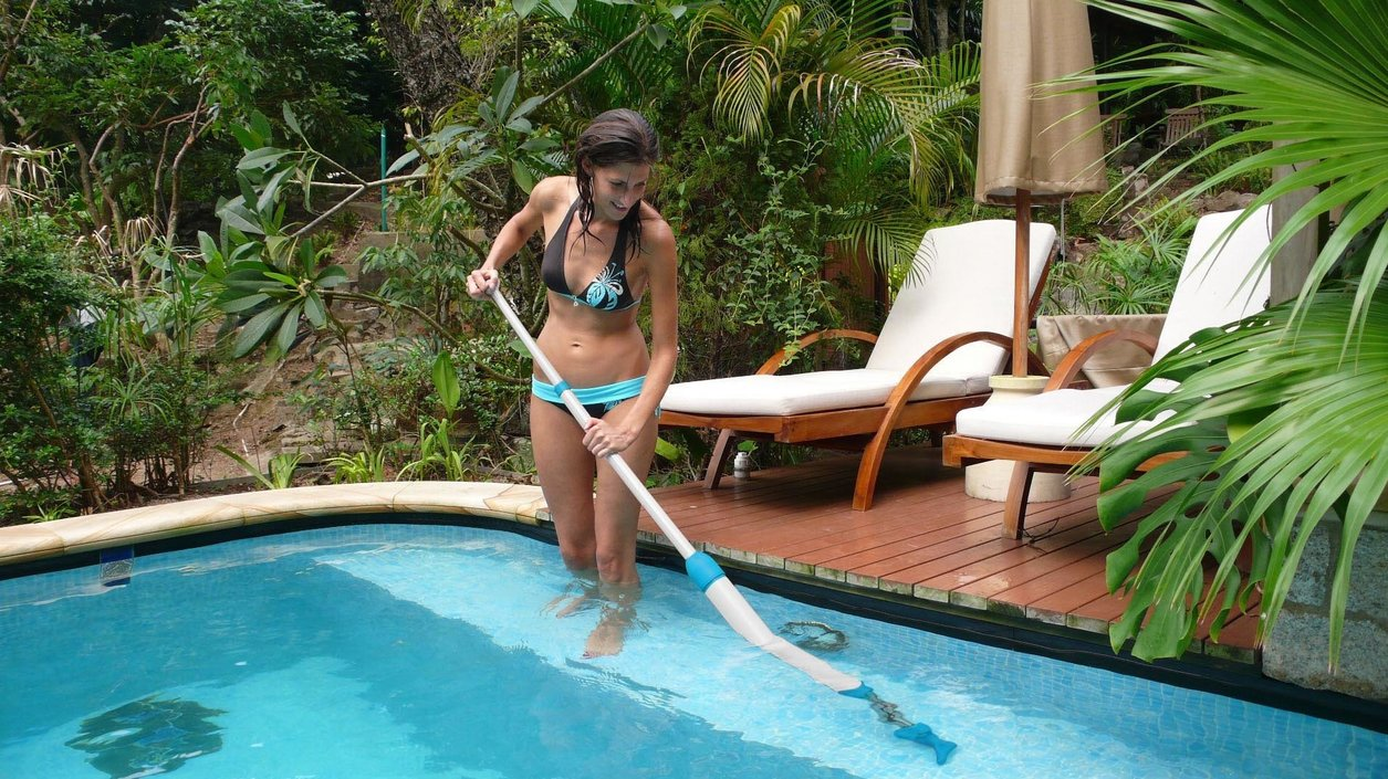 Interline Mano pool & spa vacuüm cleaner