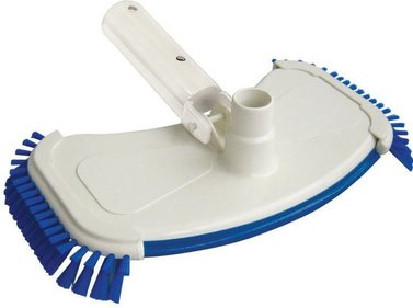 Interline vacuum cleaner mouth with side brush