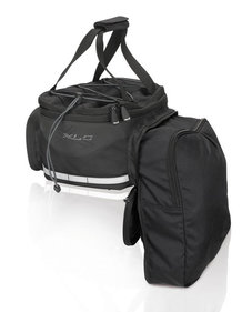 Xlc Carry More single bicycle bag black 16L