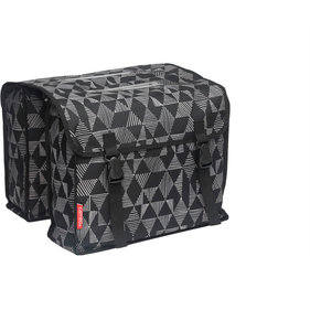 New Looxs Cameo double bicycle bag triangle black