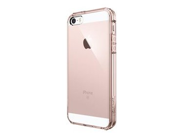 Spigen iPhone SE/5(S) Ultra Hybrid Rose Crystal hoesje
