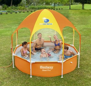 Bestway Splash-In-Shade Play Pool opblaaszwembad