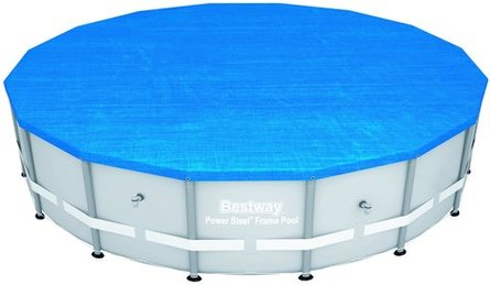 Bestway Vendavel frame around 488 pool cover