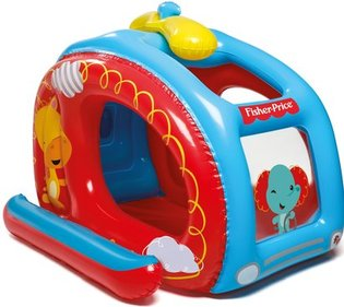Bestway Fisher-Price helikopter opblaasbare ballenbak